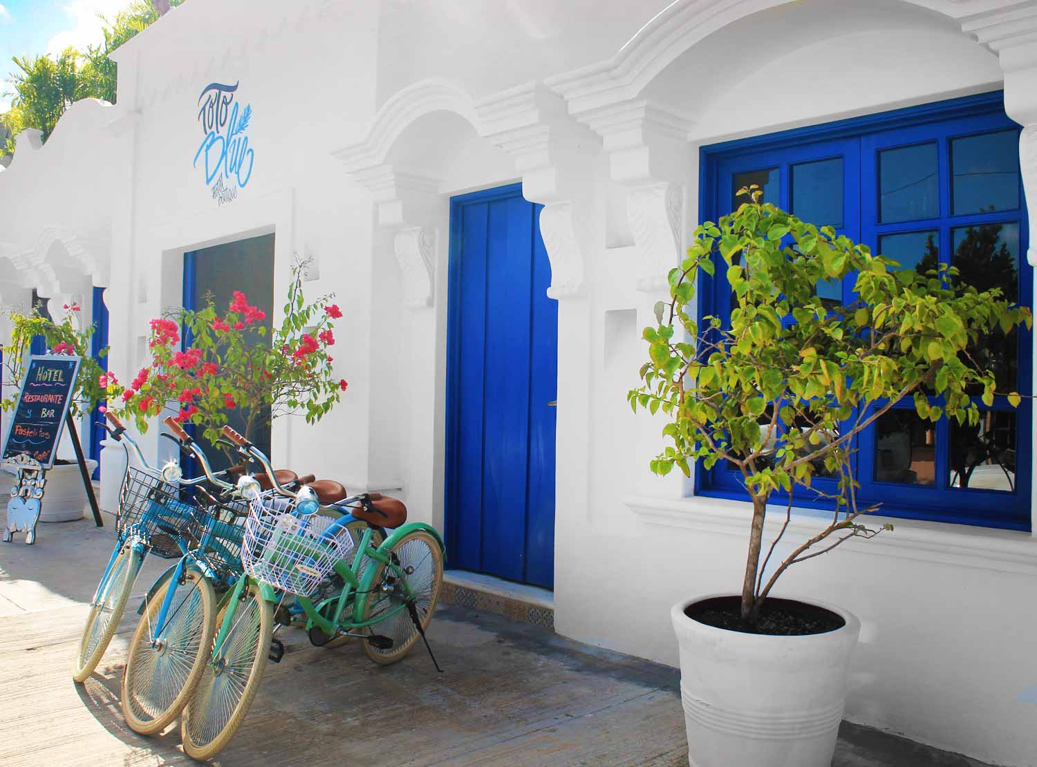 toto blue hotel boutique, bacalar hotels