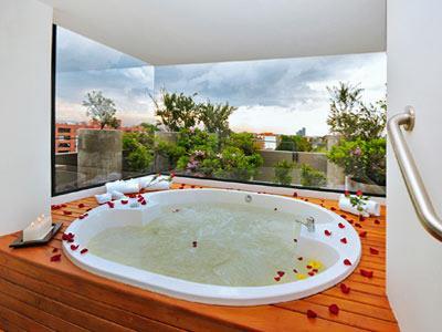 Bosque alto apartasuite en bogot reserva de hoteles en for Appart hotel jacuzzi