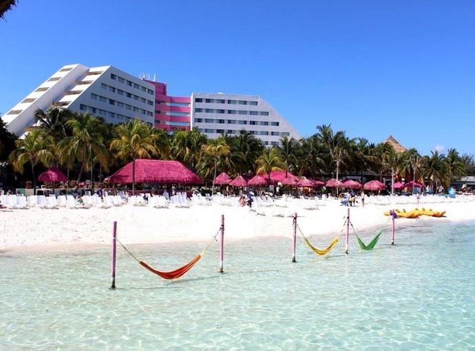 Enbarcadero picture of aquamarina beach hotel cancun tripadvisor - Informaci N Del Hotel