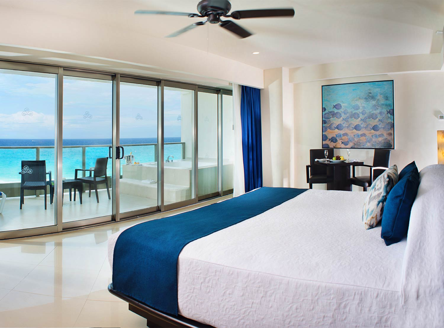 Ocean Front Suite with Terrace Jacuzzi