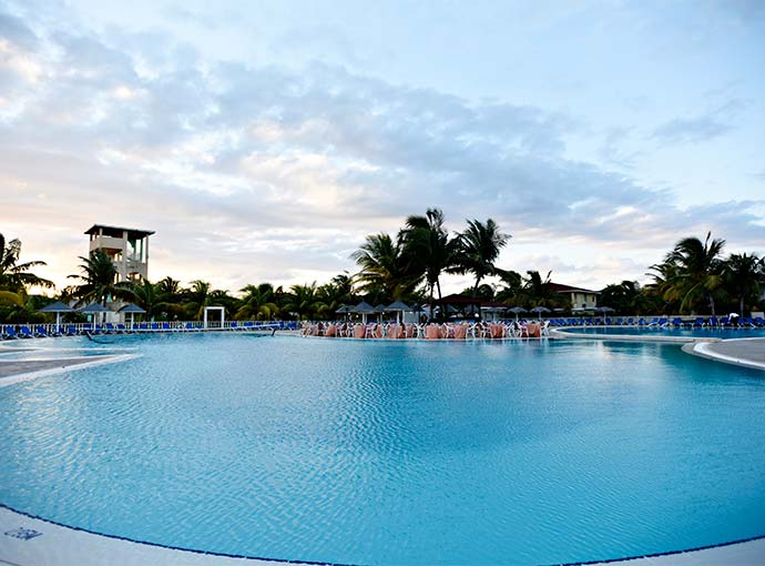 Piscina (s) Memories Caribe