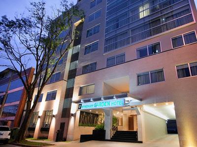 Map Location Of Wyndham Garden Panama City Hotel Panama