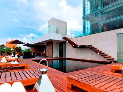 Demetria hotel en guadalajara m xico for Hoteles con piscina en guadalajara
