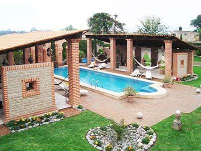 Hacienda la magdalena en guadalajara reserva de hoteles for Hoteles con piscina en guadalajara