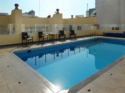 Hotel roma guadalajara en guadalajara reserva de hoteles for Hoteles con piscina en guadalajara