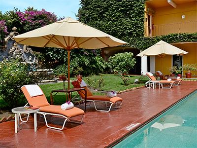 Hotel misi n guadalajara carlton for Hoteles con piscina en guadalajara