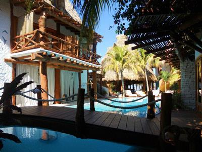 Casa las tortugas petit beach hotel spa in quintana for Hotel casa de los azulejos tripadvisor