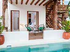 Junior Suite con Piscina Privada No Reembolsable