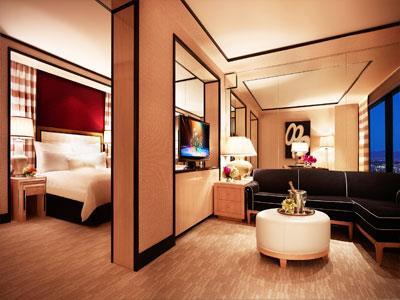 Habitaciones en el hotel encore at wynn las vegas las for Habitaciones conectadas hotel