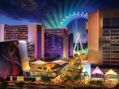 4-star casino hotel in center strip - fountains area