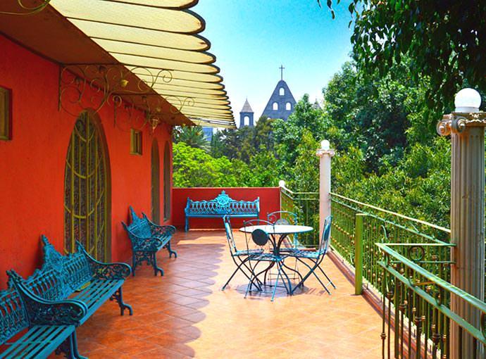 Terraza en la azotea Residence L Heritage Royal Colonial by BlueBay