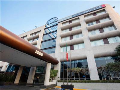 Mapa y ubicaci n de hotel krystal urban aeropuerto ciudad for Puerta 6 autodromo hermanos rodriguez ubicacion