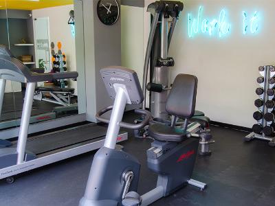 Fitness Center Residence L Heritage Tennyson by BlueBay