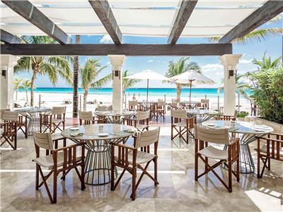 The Deck Restaurant Royal Hideaway Playacar Adults Only
