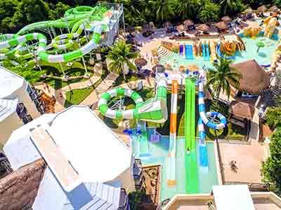 Sandos Caracol Eco Resort All Inclusive in Playa del Carmen Mexico