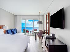 Deluxe Junior Suite Una King Frente al Mar