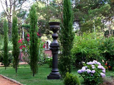 Villa toscana boutique hotel punta del este for Jardin villa d este
