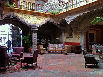 La casa de la marquesa hotel queretaro for Hotel luxury queretaro