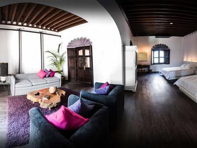 Mapa y ubicaci n de mes n de santa rosa luxury hotel for Hotel luxury queretaro