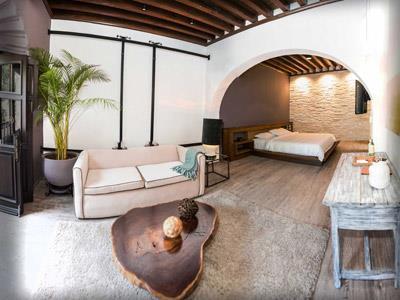 Habitaciones en el mes n de santa rosa luxury hotel for Hotel luxury queretaro