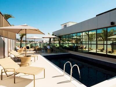 Americas granada hotel en r o de janeiro reserva de for Gimnasio con piscina granada