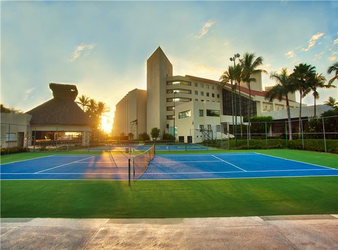 Cancha (s) de Tenis Occidental Nuevo Vallarta