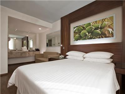 Habitaciones en el hotel krystal grand nuevo vallarta for Cama grand king