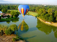 Hot Air Balloon Ride with Lodging in Queretaro Tour
