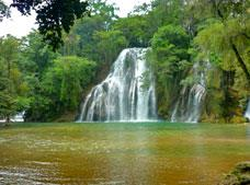 Tamasopo Waterfalls and Puente de Dios Tour