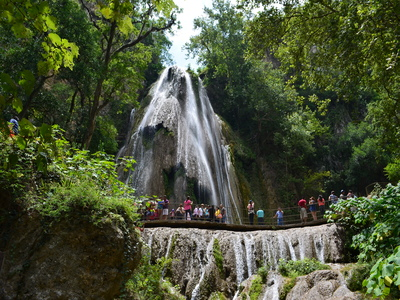 Cola de Caballo Waterfall Tour