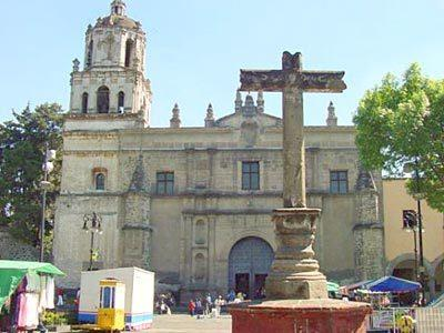 San Juan Bautista Church, Coyoacan