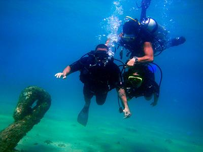 Diving in Manzanillo