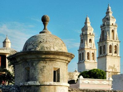 Baluartes en Campeche
