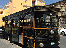 Trolley Tour to Cholula. ¡FREE CABLE CAR TICKET!