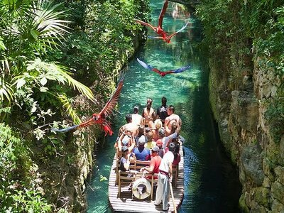 Xcaret – Xoximilco Tour without Transportation