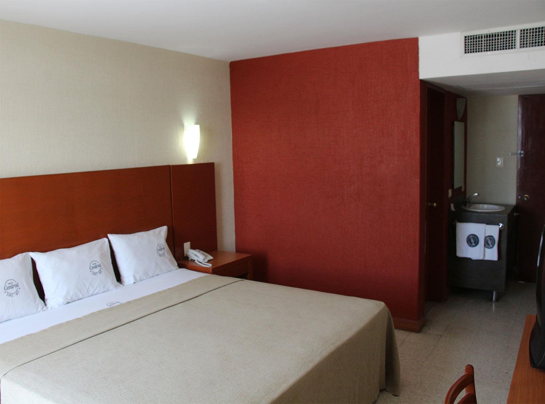 Habitaciones en el Hotel Central Veracruz, Veracruz Puerto ...