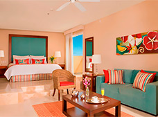 Junior Suite Vista Tropical con Cama King